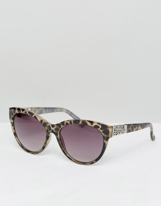 Oasis Animal Print Cat Eye Sunglasses $26 thestylecure.com