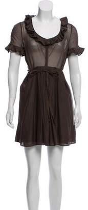 Marc by Marc Jacobs Short Sleeve Mini Dress
