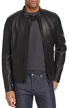B Racer Leather Jacket