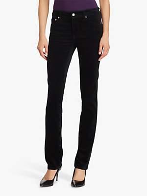 Ralph Lauren Ralph Premier Slim Straight Leg Jeans, Polo Black