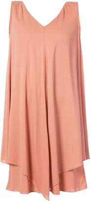 Fabiana Filippi sleeveless layer dress