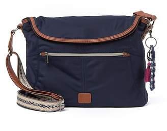 The Sak Esperato Nylon Flap Hobo Bag