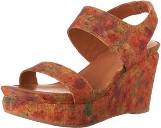 Gentle Souls Women's Juniper Berry Wedge Sandal