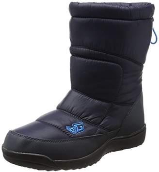 Body Glove (ボディー グローヴ) - [ボディグローブ] スノーブーツ ウィンターブーツ 4cm防水 防水防滑 スノトレ BG996 NAVY 23 cm