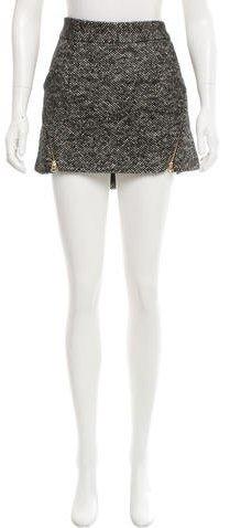 Rebecca MinkoffRebecca Minkoff Tweed Mini Skirt