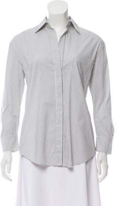 4dfc1295ad42f Pre-Owned at TheRealReal · BCBGMAXAZRIA Striped Button-Up Top