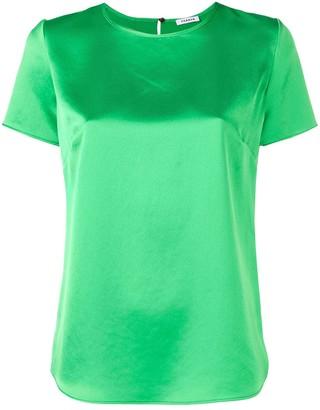 P.A.R.O.S.H. satin T-shirt blouse