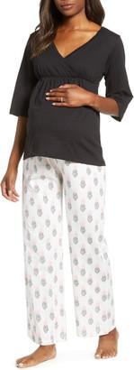 8640fdafd6ca2 Belabumbum Maternity/Nursing Pajamas