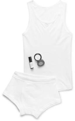 Secondskin Tease Away Tension Cotton-Jersey Pyjama Set