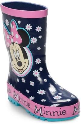 Disney's Minnie Mouse Toddler Girls' Waterproof Rain Boots