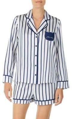 Kate Spade Two-Piece Stripe Pajama Set