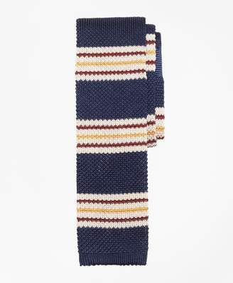 Brooks Brothers Triple Stripe Knit Tie