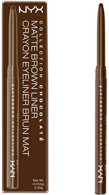 NYX Collection Chocolate Matte Brown Eyeliner