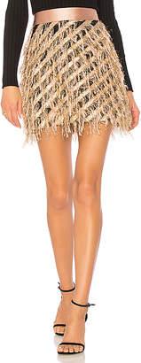Milly Diagonal Modern Mini Skirt