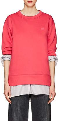 Acne Studios Women's Fairview Emoji Cotton Sweatshirt