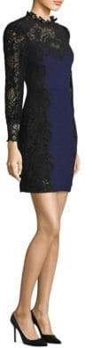 Rebecca Taylor Tweed Lace Dress