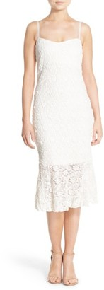 Women's French Connection Lace Midi Dress $168 thestylecure.com