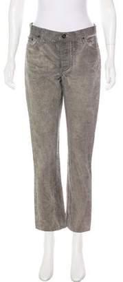 John Varvatos Mid-Rise Straight-Leg Jeans
