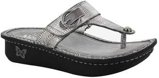 Alegria Women's Alegria, Carina thong sandal PEWTER 3.6 M