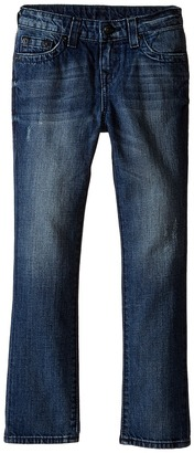 True Religion Kids Fashion Geno Single End Jeans in Dark Destructed (Toddler/Little Kids) $89 thestylecure.com