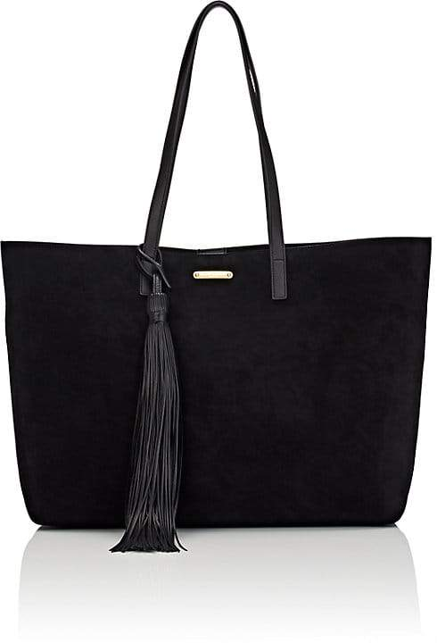 Saint Laurent Women's Suede Shopping Tote Bag
