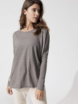 Frank And Eileen Relaxed Long Sleeve Stripe Tee