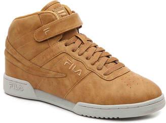 Fila Distressed High-Top Sneaker - Men's