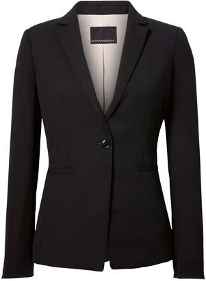 Banana Republic Petite Long and Lean-Fit Solid Blazer