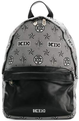 Kokon To Zai monogram printed backpack