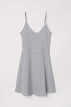 H&M Short Jersey Dress - Black