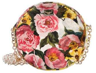 Dolce & Gabbana Glam Floral Brocade Crossbody Bag