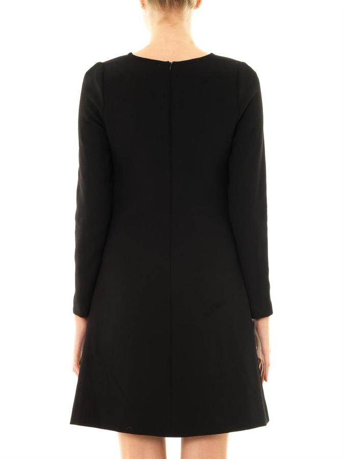 Goat Tia wool-crepe dress