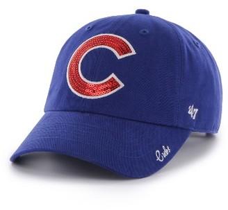 Women's '47 Chicago Cubs Sparkle Baseball Cap - Blue $25 thestylecure.com