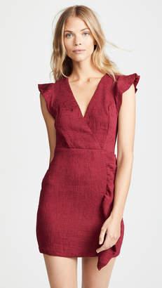 Endless Rose Flutter Sleeve Mini Dress