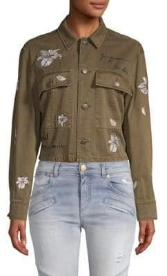 Cosette Embroidered Denim Jacket