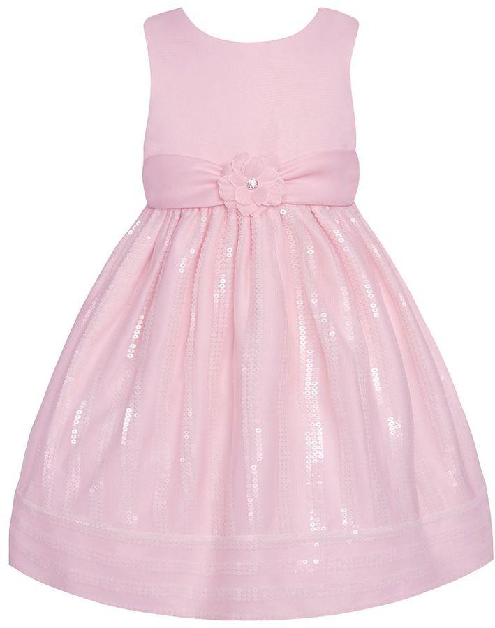 American princess sparkle dress - girls 4-6x