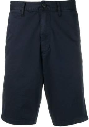 Emporio Armani mid rise knee length shorts