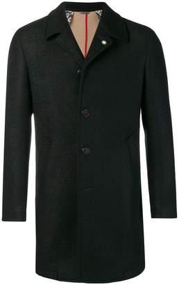 Manuel Ritz woven overcoat
