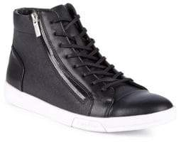 Calvin Klein Berke Lace-Up High-Top Sneakers