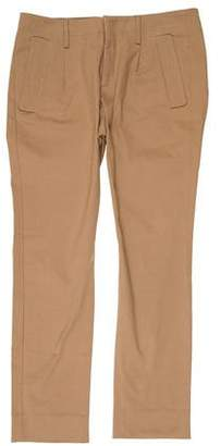 Christian Dior Flat Front Corduroy Pants