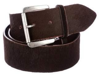 Ann Demeulemeester Ponyhair Waist Belt