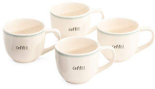 4pk Coffee Mug Set
