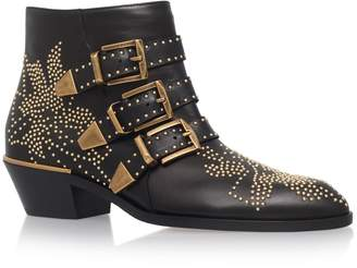 Chloé Susanna Studded Ankle Boots 30