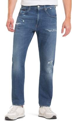Tommy Hilfiger Rip and Repair Tapered Fit Jean