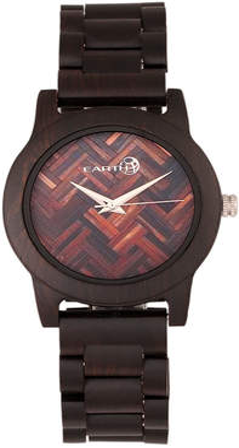 Earth Wood Unisex Crown Watch