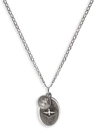 Miansai Dove Sterling Silver Pendant Necklace