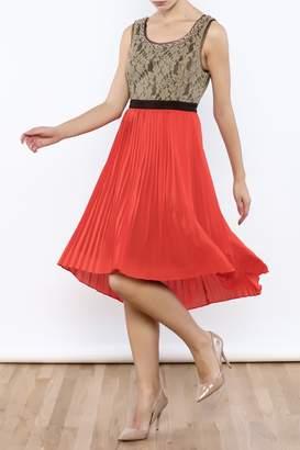Ryu Tangerine Tango Dress