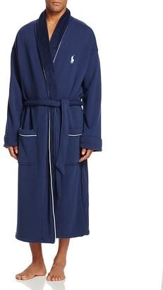 Polo Ralph Lauren Fleece Lined Shawl Collar Robe $120 thestylecure.com