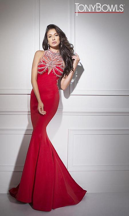 Tony Bowls - TB11687 Dress in Red