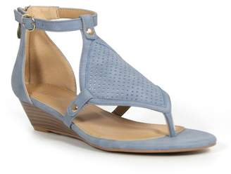 Catherine Malandrino Romy Low Wedge Sandal